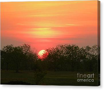 Perfect Ending Canvas Print by Matthew Seufer