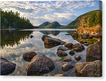 Perfect Pond Canvas Print by Kristopher Schoenleber