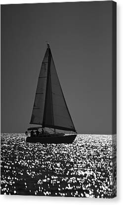 Perfect Sailing Canvas Print by Amazing Jules