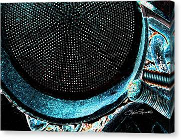 Dean Russo Canvas Print - Perforated I by Sylvia Thornton