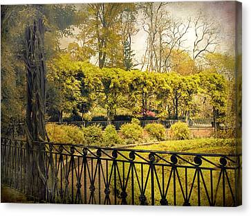 Pergola Garden Canvas Print by Jessica Jenney