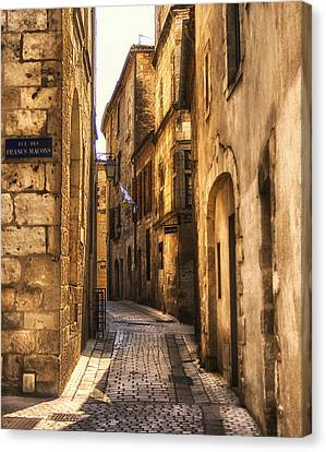 Perigueux Street Canvas Print