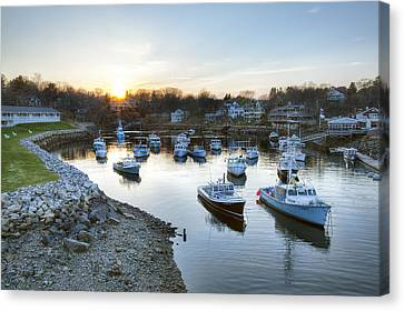 Perkins Cove Canvas Print by Eric Gendron