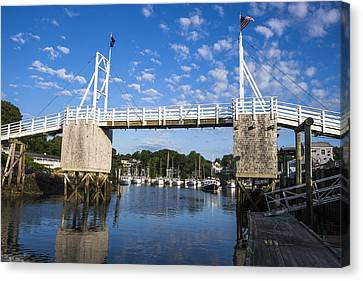 Perkins Cove - Maine Canvas Print by Steven Ralser