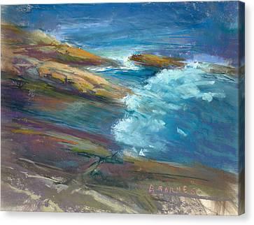 Pemaquid Rocks Canvas Print by Greg Barnes