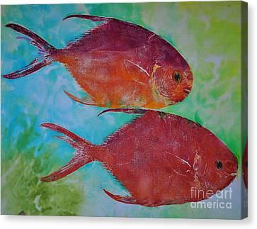 Permit Canvas Print by Brenda Alcorn