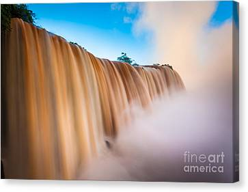 Perpetual Flow Canvas Print by Inge Johnsson