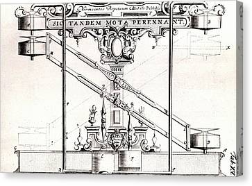 Perpetual Motion Machine Canvas Print by Universal History Archive/uig
