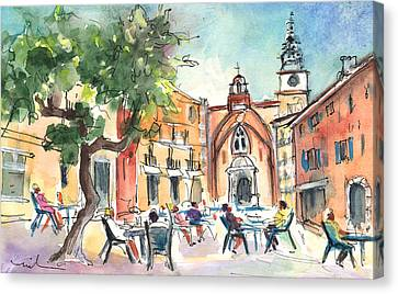 Perpignan 03 Canvas Print by Miki De Goodaboom