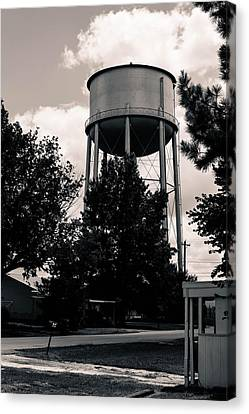 Perry Water Tower  Canvas Print