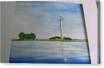 Perry's Monument Canvas Print
