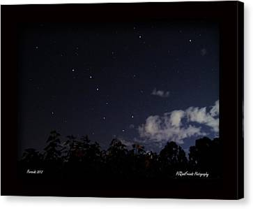 Perseids Big Dipper Canvas Print by PJQandFriends Photography