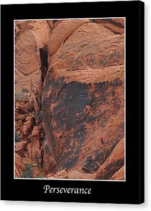 Perseverance Canvas Print by Kirt Tisdale