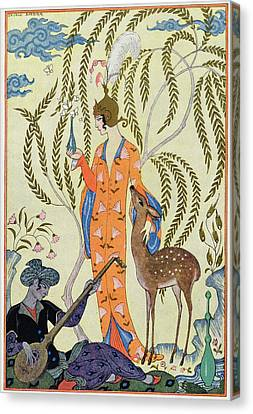 Persia Canvas Print by Georges Barbier