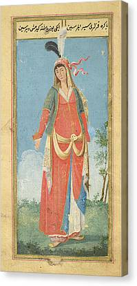 Persian Woman Canvas Print by British Library