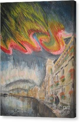 Persistance Of Imagination Canvas Print by Glen McDonald