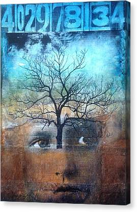 Personal Growth Canvas Print by Susan McCarrell