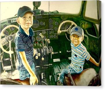 Personnel Canvas Print by Henryk Gorecki
