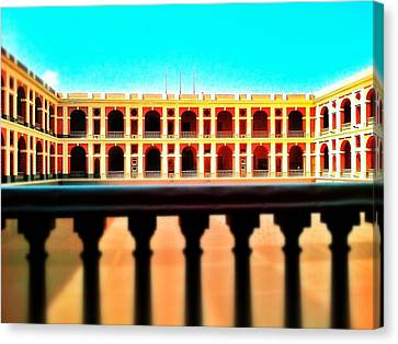 Perspective Canvas Print by Olivier Calas