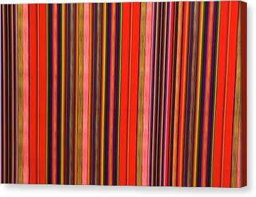 Peru, Colorful Fabric Canvas Print by Jaynes Gallery
