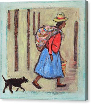Peru Impression I Canvas Print by Xueling Zou