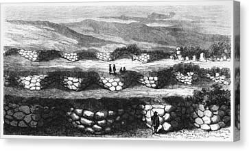 Peru Sacsayhuaman, 1869 Canvas Print by Granger