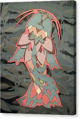 Pesca De La Flora Canvas Print by Alison  Grieco