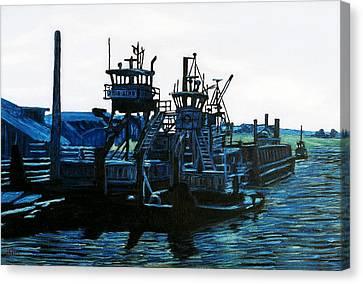 Petaluma Tugboats Canvas Print by Gerhardt Isringhaus