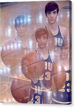 Pete Maravich Kaleidoscope Color 2 Canvas Print by Retro Images Archive