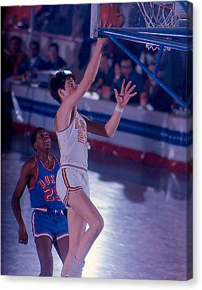 Pete Maravich Layup Canvas Print by Retro Images Archive