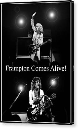 Peter Frampton Live Canvas Print