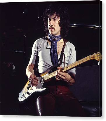 Peter Green 1969 Canvas Print by Chris Walter