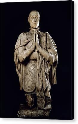 Peter I The Cruel 1334-1369. Kinf Canvas Print