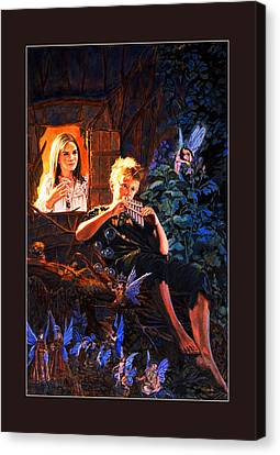 Peter Pan Canvas Print by Patrick Whelan