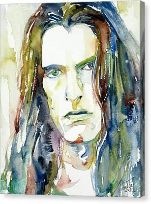 Steele Canvas Print - Peter Steele Portrait.4 by Fabrizio Cassetta