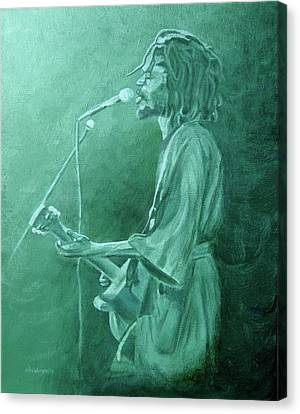 Peter Tosh 1 Canvas Print by Michael Morgan