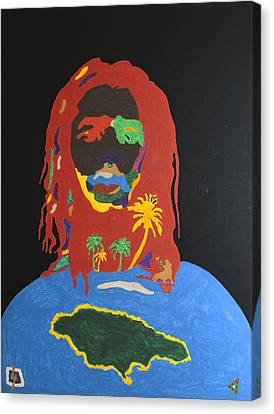 Peter Tosh Bush Doctor Canvas Print