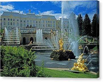 Peterhof Palace Canvas Print