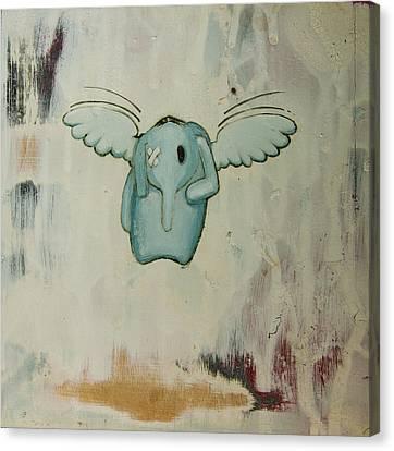 Pete's Angel Canvas Print by Konrad Geel