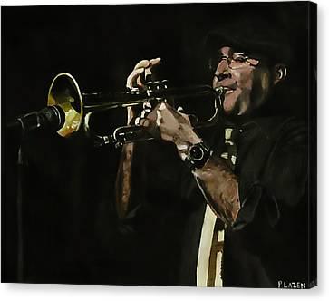 Pete's Solo Canvas Print by Patricio Lazen