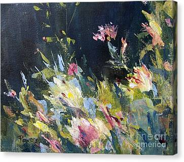 Petite Bouquet Canvas Print by Mary Lynne Powers