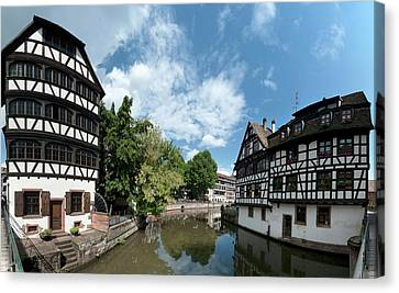 Rhin Canvas Print - Petite France View From The Bridge by Panoramic Images