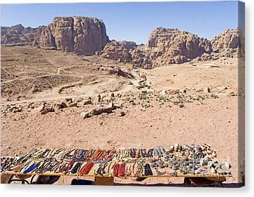 Petra, Jordan Canvas Print by Adam Sylvester