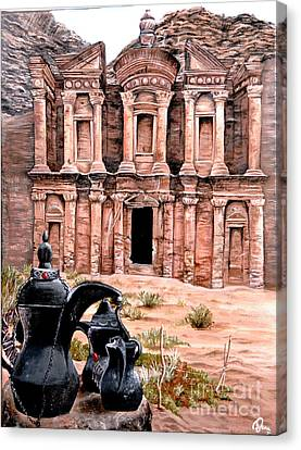Petra  Canvas Print by Mylene Le Bouthillier