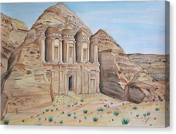 Petra Canvas Print by Swati Singh