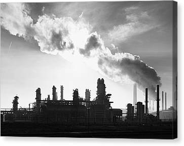 Petrochemical Plant Canvas Print by Hans Engbers