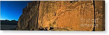 Petroglyphs, Chile Canvas Print by Babak Tafreshi