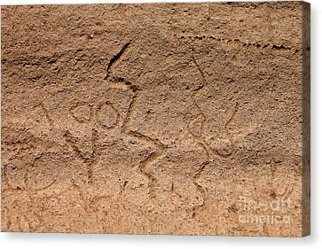 Petroglyphs, Lava Beds National Canvas Print by Richard and Ellen Thane