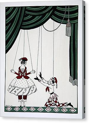Petroushka Canvas Print by Georges Barbier