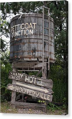 Petticoat Junction Canvas Print by Kristin Elmquist